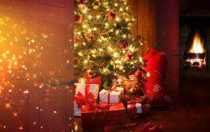 Chicaugon Lake Inn Christmas tree