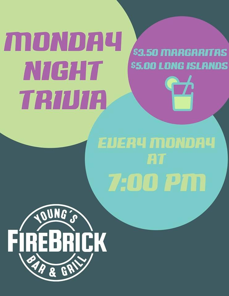 Young's Monday Night Weekly Trivia