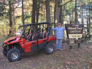 ATV riding in Iron County MI; staying at Chicaugon Lake Inn